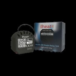 Heatit ZM Single Relay 16A - Rele Z-Wave para altas cargas