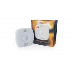 Heatit Z-Smoke Detector - sensor de humo Z-Wave a bateria